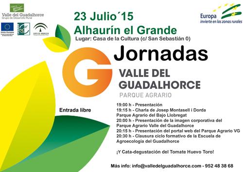 Jornada Parque Agrario Valle del Guadalhorce 23 julio 2015